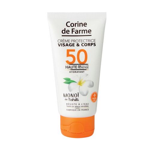 Crème protectrice visage&corps SPF50 50ml